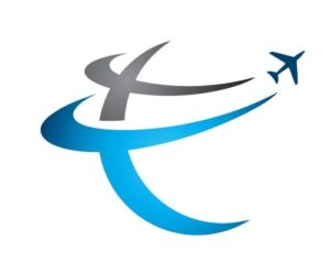 Logo picture with aircraft